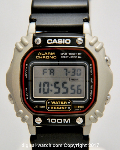 casio water resist alarm chrono wr manual